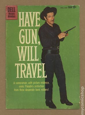 Have Gun Will Travel #5B 1960 Gold Mining Back Cover GD/VG 3.0