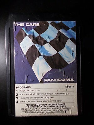 8-Track / 8-Spur Tonband /Cartridge :   The Cars - Panorama