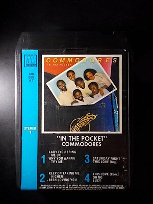 8-Track / 8-Spur Tonband /Cartridge :   COMMODORES - In The Pocket