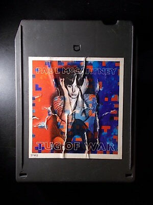 8-Track / 8-Spur Tonband /Cartridge :   PAUL McCARTNEY - Tug Of War