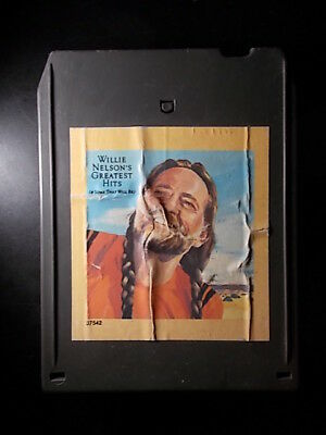 8-Track / 8-Spur Tonband /Cartridge :   WILLIE NELSON - Greatest Hits