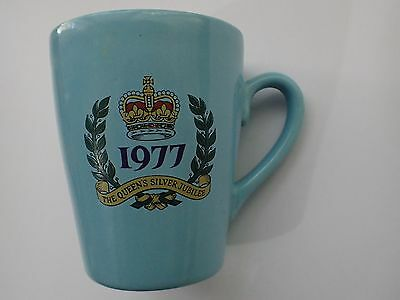 Queen Elizabeth Ii 1977 Silver Jubilee Mug Good Condition Shipping With Tracking