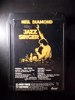 8-Track / 8-Spur Tonband /Cartridge :   NEIL DIAMOND - The Jazz Singer