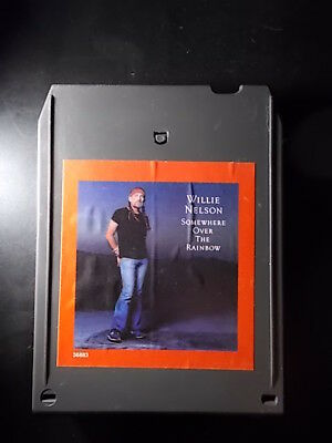 8-Track / 8-Spur Tonband /Cartridge : WILLIE NELSON - Somewhere Over The Rainbow