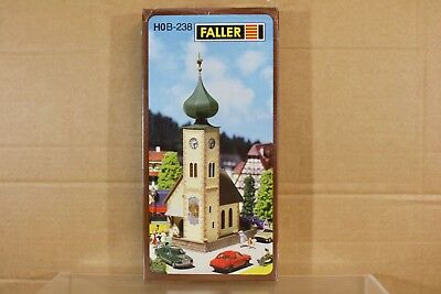 FALLER B-238 HO SCALE SMALL COUNTRY CHURCH MODEL RAILWAY LAYOUT KIT nq