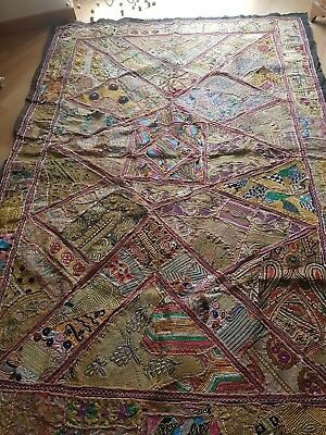 vintage indian tapestry arazzo indiano