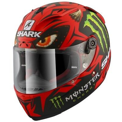 Shark Race R Pro Lorenzo Austria GP Carbon Motorcycle Full Face Helmet Mat - NEW