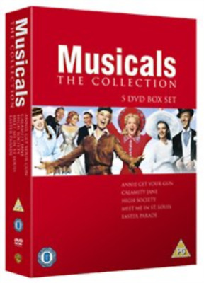 Judy Garland, Fred Astaire-Musical Collection (UK IMPORT) DVD [REGION 2] NEW