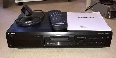 Sony MDS-JE330 Mini Disc Player inc. remote - in full working order