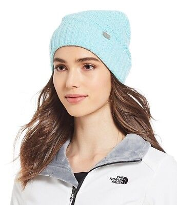 The North Face Womens Reyka Beanie Winter Hat Mint Blue - $35 - NWT