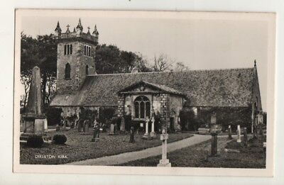 Old RP Postcard.Church At Dirleton Kirk,East Lothian.c1950's.M & L National