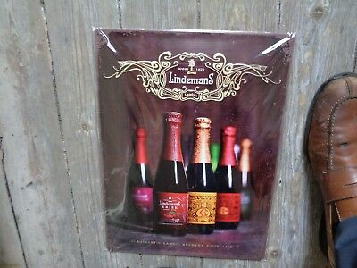 Lindemans reclame metaal new in blister authentic lambic brewery