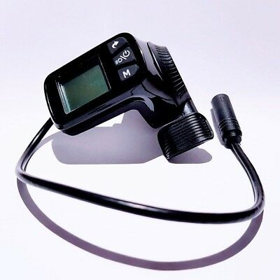 124DX-3 eBike display with throttle (compatible with Super 73)
