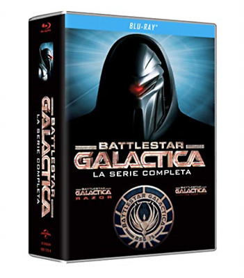 Battlestar Galactica - La Serie Completa (Ed 2018) (23 B (UK IMPORT) BLU-RAY NEW