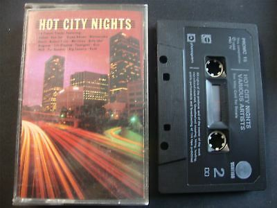 Hot City Nights - Cassette Tape    Classic Eighties Rock