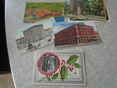 Vintage lot of postcards ~ 15 Random Postcards from the 1910 to '50s - Historic