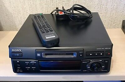 Sony MDS-S40 Mini Disc Player inc. remote - in full working order