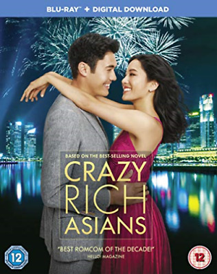 Crazy Rich Asians (UK IMPORT) BLU-RAY NEW