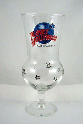 """Planet Hollywood """"MALL OF AMERICA""""- Hurricane Glass- 8 1/4 INCH"""