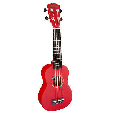 Tiger  Soprano Ukulele for Beginners in Red