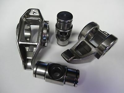 LS1 LS2 Rocker Arms Rockers, *Micropolished*, Smith Brothers Bronze Trunion Kit