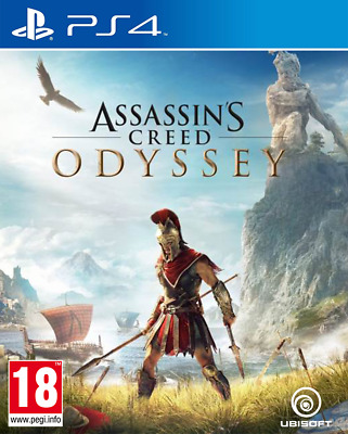 Videogioco PS4 Assassin's Creed Odyssey Nuovo Originale per Sony PlayStation 4