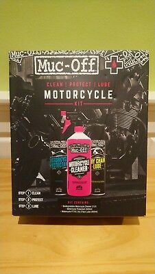 Muc-Off Clean Protect And Lube Motorcycle / MC / Motorbike / Bike Kit M672