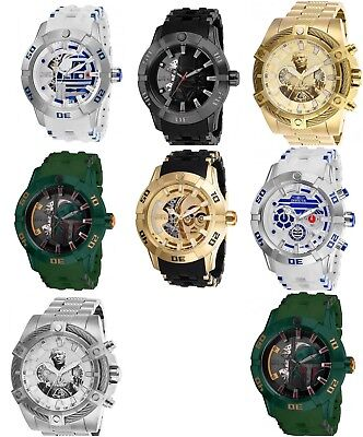 Invicta Star Wars Men's Limited Edition Chronograph Watch (Pick your character)