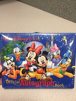 SEALED WALT DISNEY WORLD ~ Official Autograph Book - UNUSED - BRAND NEW