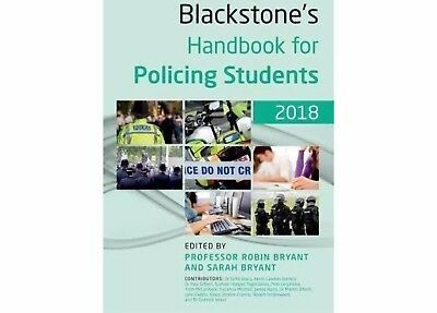 Blackstone's Handbook for Policing Students 2018 New Recruit Study Help Guide