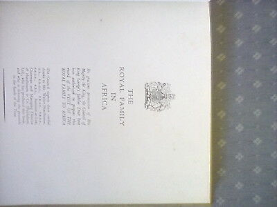 The Royal Family in South Africa book 1947