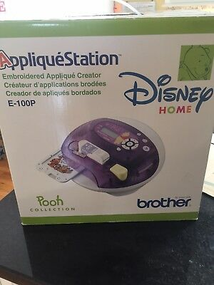 Brother Appliqué Station Pooh Collection Disney Home E-100P