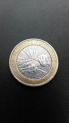 Florence Nightingale £2 Pound Coin.2010.