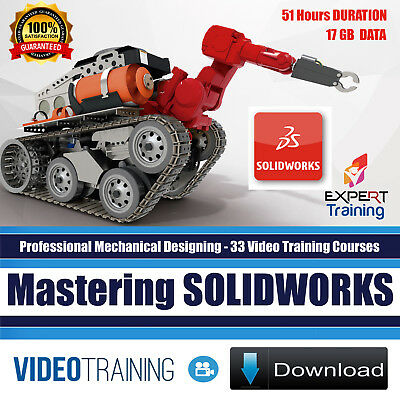 Mastering SOLIDWORKS - 33 Video Training Courses with Exercise Files DOWNLOAD