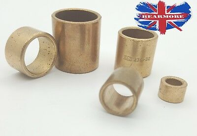 Bush Spacer Copper Alloy Bronze Red Brass Bearings Sleeve Collar