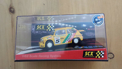 """Scx Ref:61460 Fiat Abarth """"tissot"""" Compatible With Scalextric"""