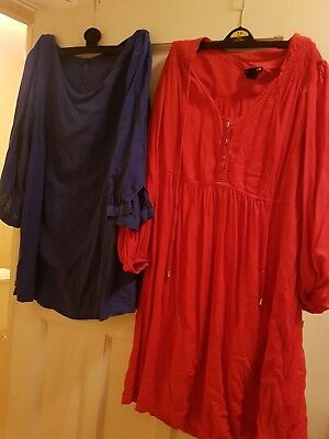 Bundle Of Two Size 12 Maternity Blouses