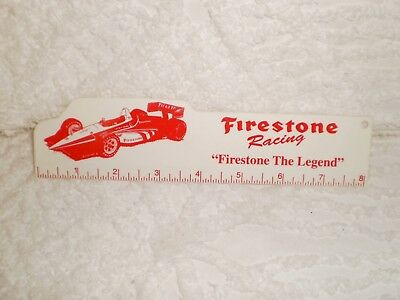 Firestone Racing 8 Inch Plastic Ruler Firestone The Legend