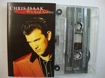 Chris Isaak - Wicked Game - Cassette Tape