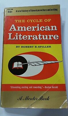 The Cycle Of American Literature Book in English Robert E.S. First Printing 1957