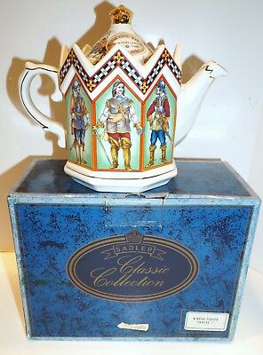 Sadler Teapot Classic Collection Minister Charles 1 King of England + Box