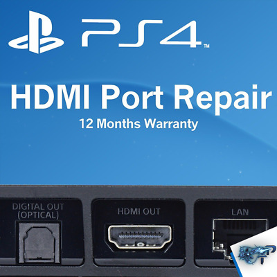 Fix Broken Sony PlayStation 4 PS4 System HDMI Port Repair Replacement Service