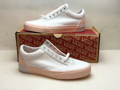 70f598905365 Vans Old Skool Blocked Pearl True White VN0A38G1OC4 MENS SZ 8.5 Womens Size  10