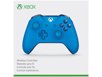 OEM Microsoft Xbox One S Blue Wireless Bluetooth Controller WL3-00018 - GST2.1