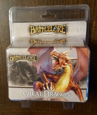 Battlelore 2nd Second Edition: Great Dragon -- Fantasy Flight NEW