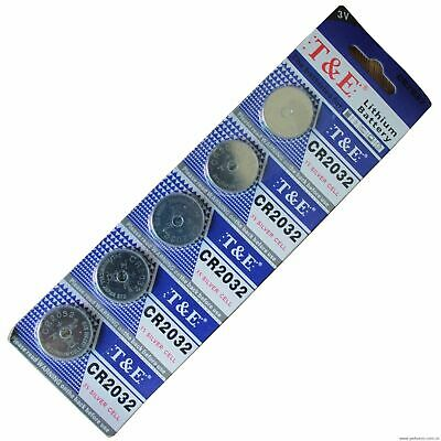 20 x CR2032 BR2032 DL2032 Branded 3V LITHIUM Coin Cell Button Batteries Uk Post