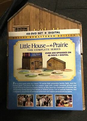 Little House on the Prairie:Complete Series Deluxe Remastered House Packaging