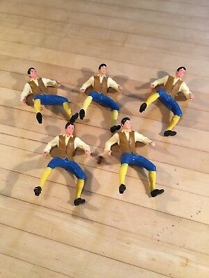 Vintage Marx Toys Lot Of 5 NOS Dime Store PAUL REVERE Figures