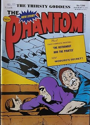 """The Phantom #1286 """"100 Page 3 Story Special"""" """"The Thirsty Goddess"""""""