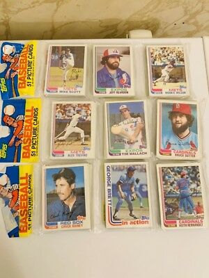 1982 Topps Baseball Rack Pack Lot Of 3 Sutter Brett Top Ripken Rookie PSA 10?